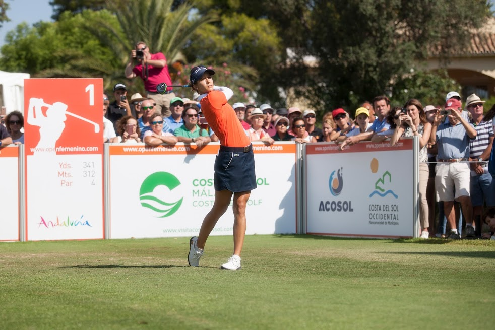 AZAHARA MUÑOZ ATTENDS THE ANDALUCIA COSTA DEL SOL OPEN DE ESPAÑA IN SEARCH OF ITS THIRD TITLE