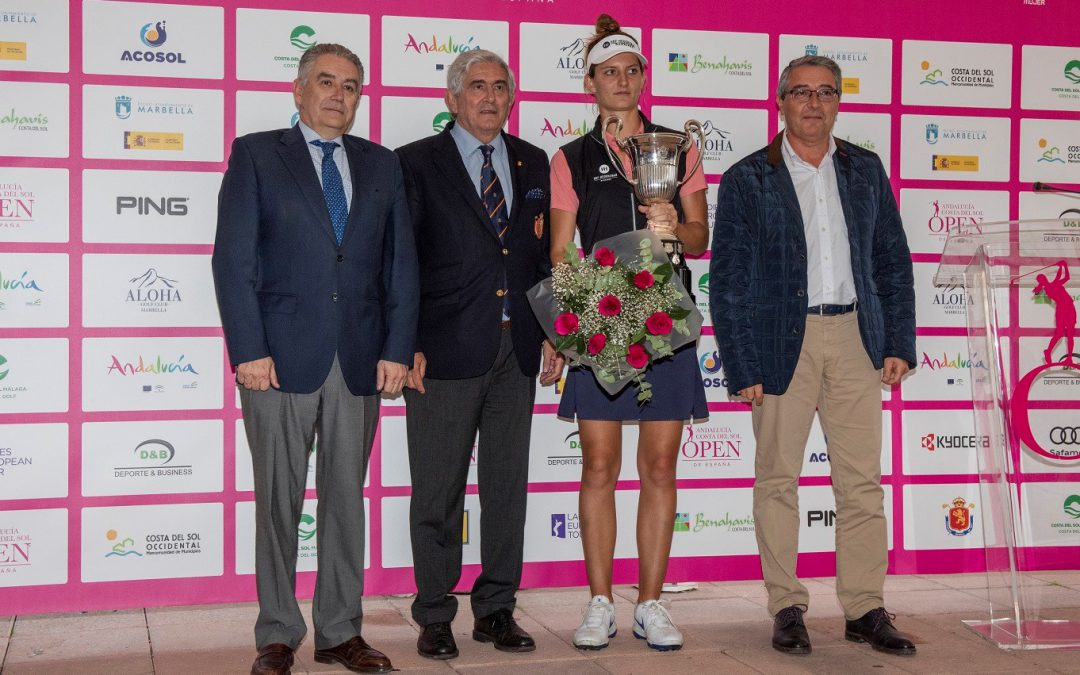 ANNE VAN DAM MAKES HIS DOUBLE AT THE ANDALUCIA COSTA DEL SOL OPEN DE ESPAÑA FEMENINO